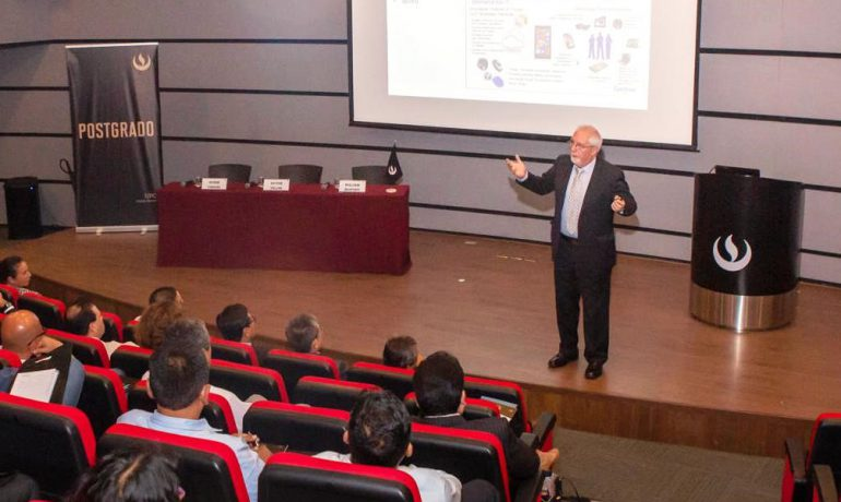FERNANDO SANTIAGO SPEAKS AT UPC in Lima Peru – March 21, 2019